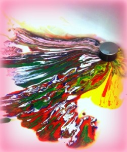 Colorful-Paint-going-down-the-drain