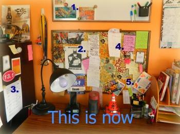 Mission Contol Desk Area Today