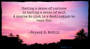 Sense of Purpose Quote