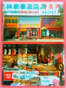 Chinese storefronts and markets