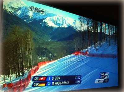 Skiing at the Sochi Olympics