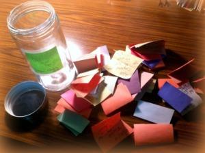Open Jar With Good Stuff