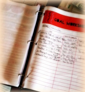 Goals and Intentions Binder