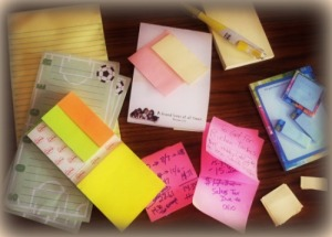 Post It Note Collection