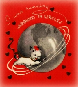 Valentine from 1930s-40s