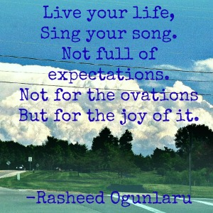 Quote on persistence by Rasheed Ogunlaru