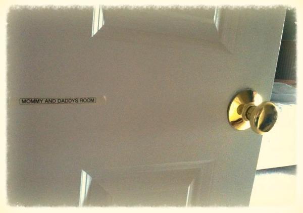The labelled door