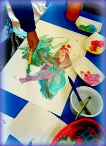 Kids creating