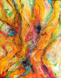 Spirit of the Banyan III- Acrylic Painting