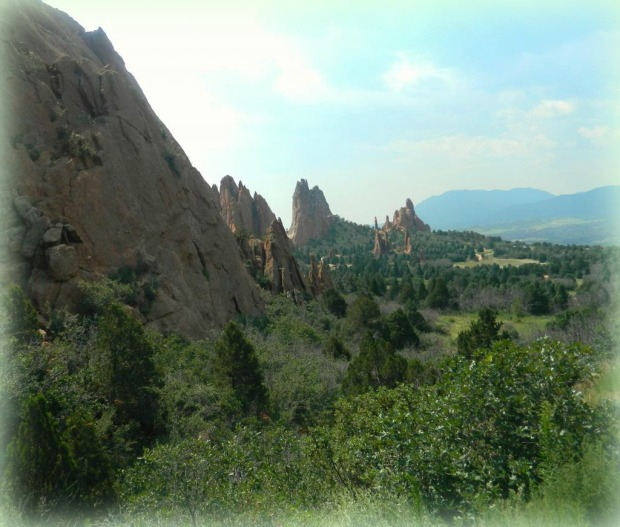 View of Garden of the Gods