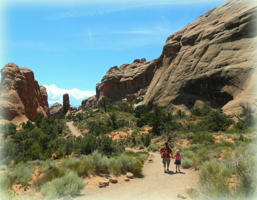 Walking in Arches