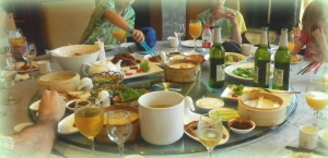 Eating family style in Beijing