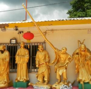 A Long Armed Buddha