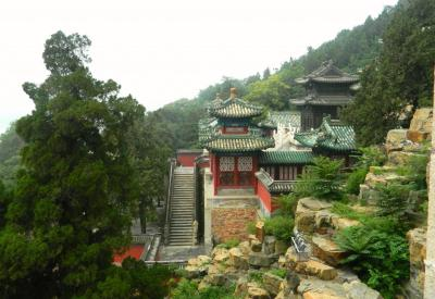 The Flying Chagall- Temple Buildings in The Summer Palace- Beijing