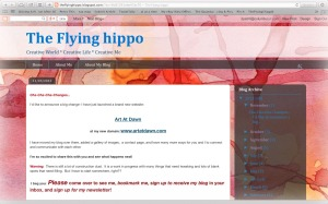 Screen Shot of The Flying hippo