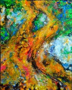 Spirit of the Banyan Tree Painting