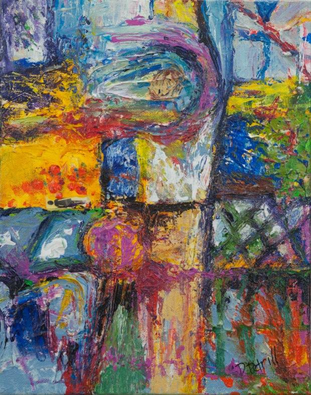 Elemental Wisdom Acrylic Painting