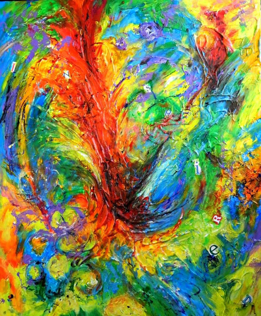 Inspired III- Acrylic Painting