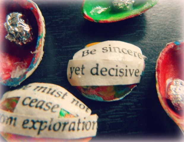 Be Sincere Yet Decisive- Art At Dawn