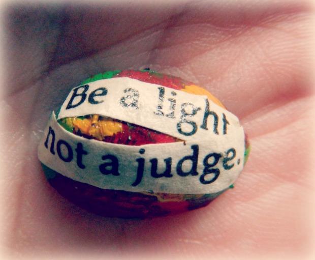 Be a light, not a judge- Art At Dawn